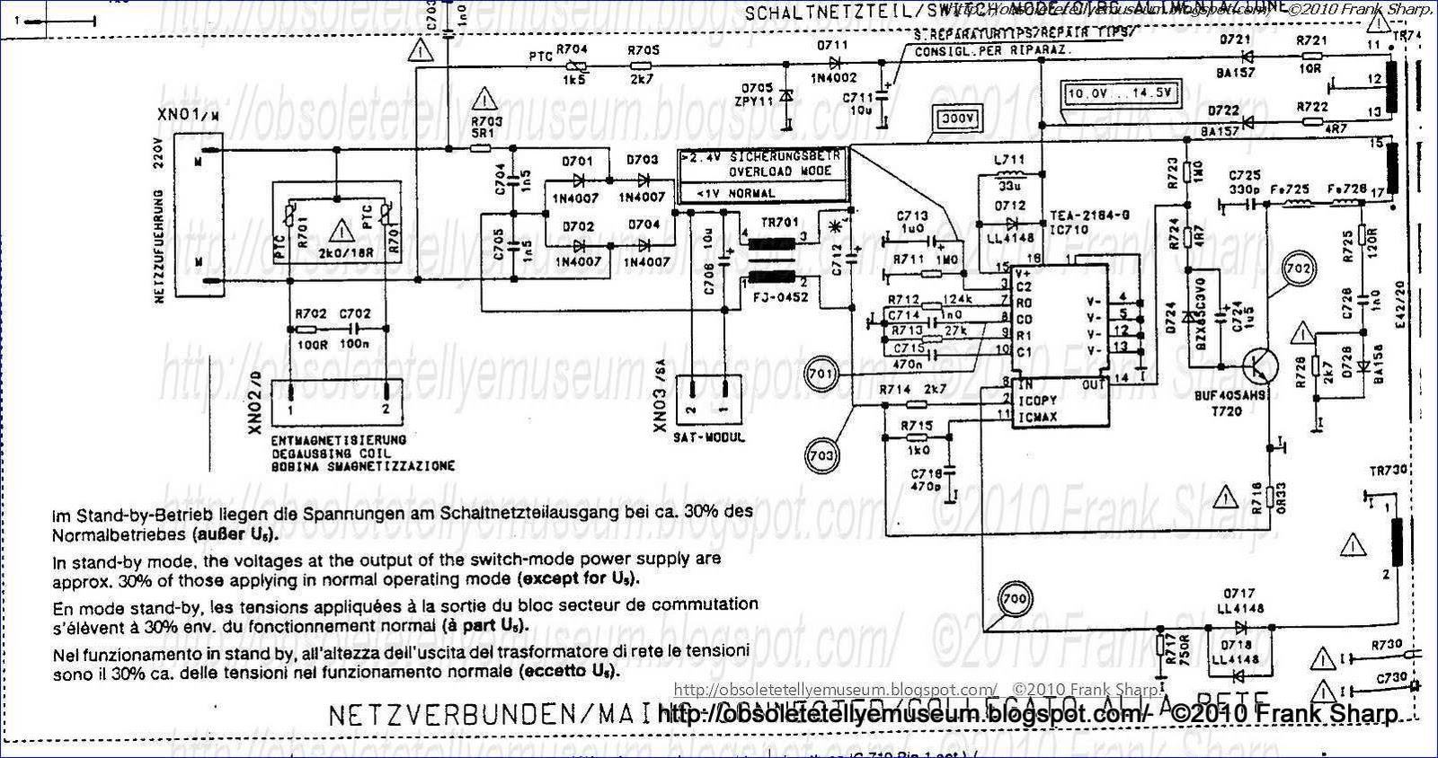 Obsolete Technology Tellye !: ITT NOKIA 7163 VT Chassis