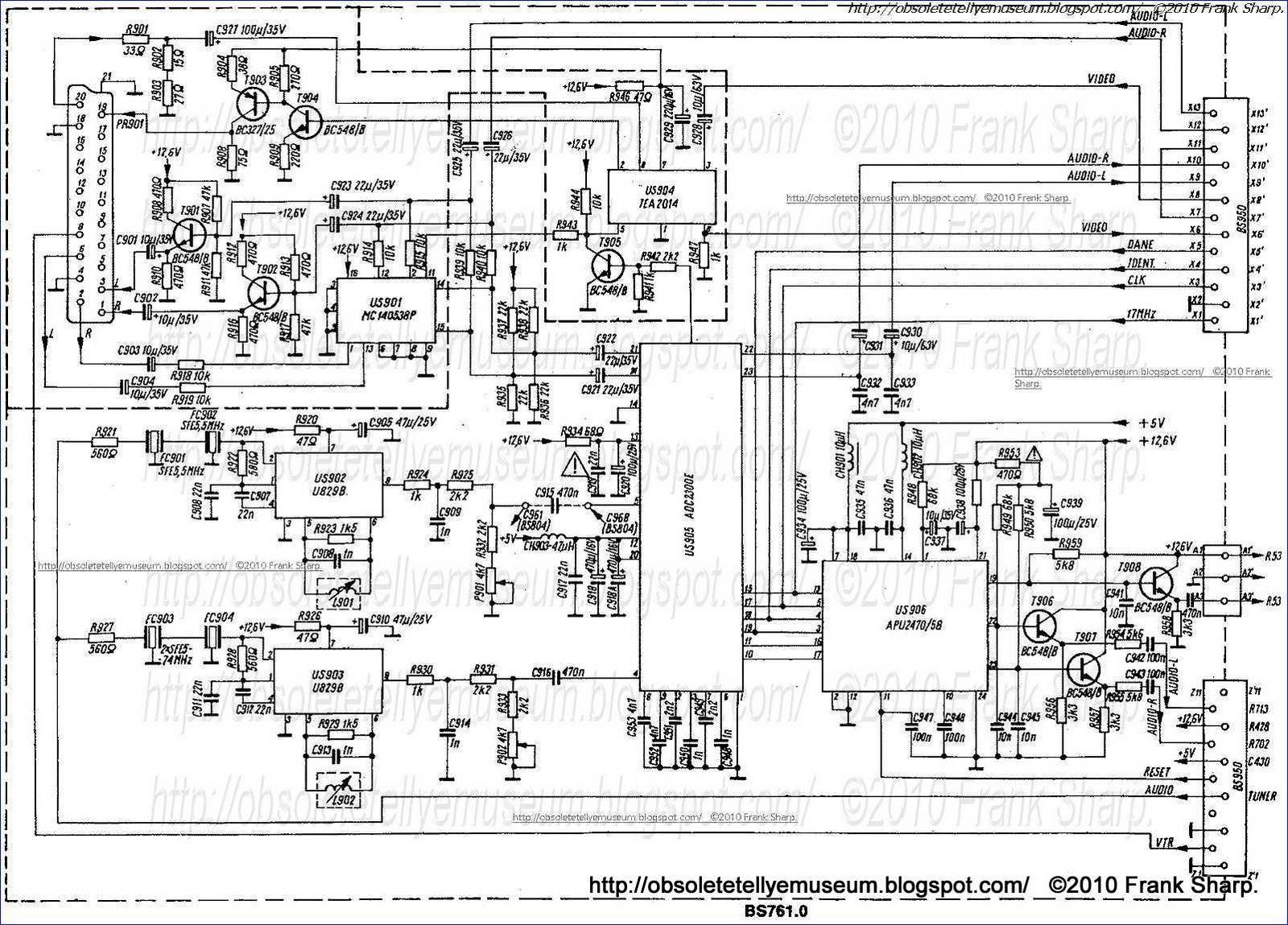 Obsolete Technology Tellye Rex Z Si 33rs627