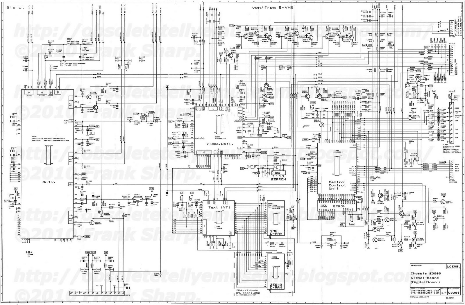 Obsolete Technology Tellye Loewe Profil Plus E