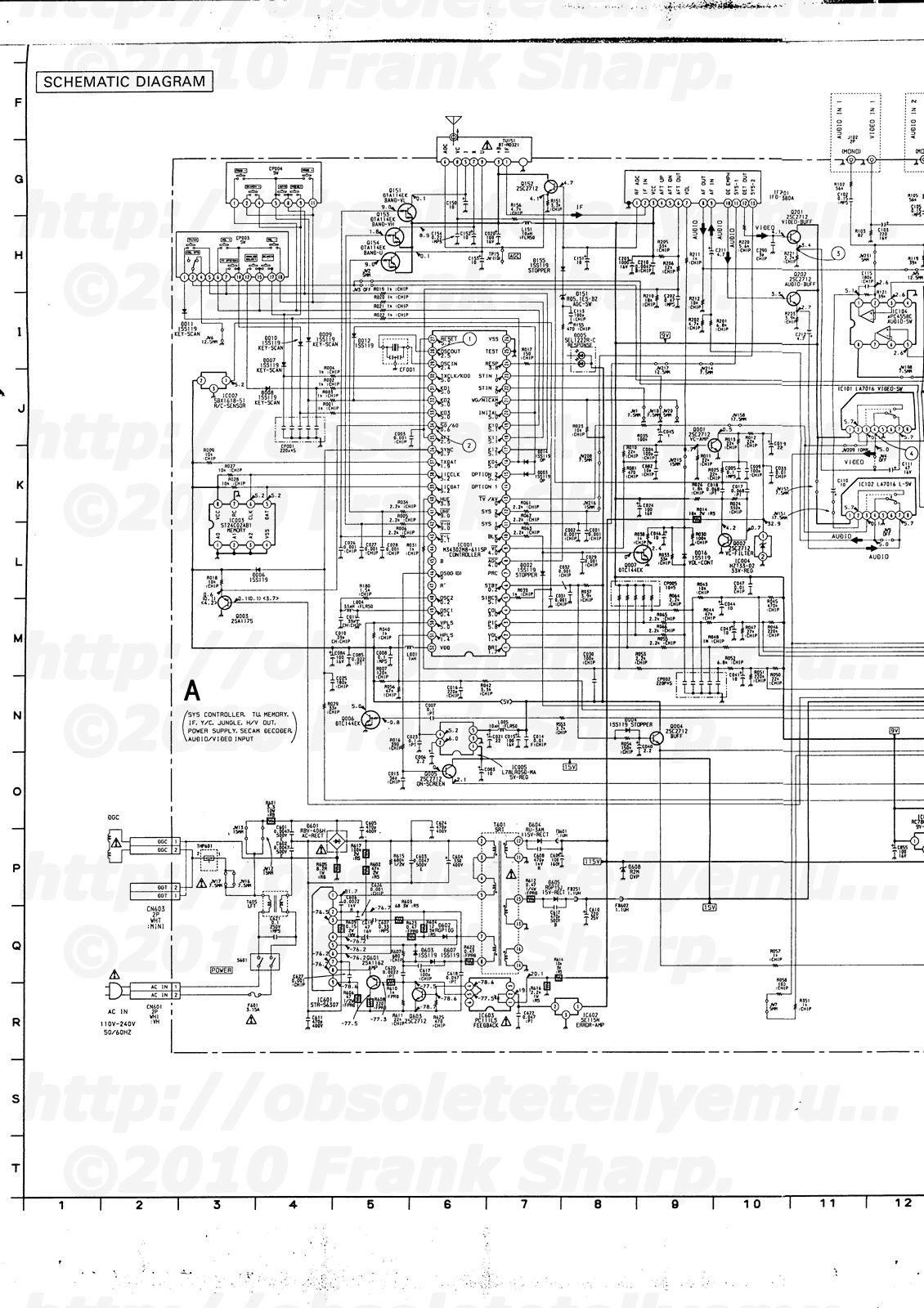 Obsolete Technology Tellye Sony Kv Mt Chassis Scc