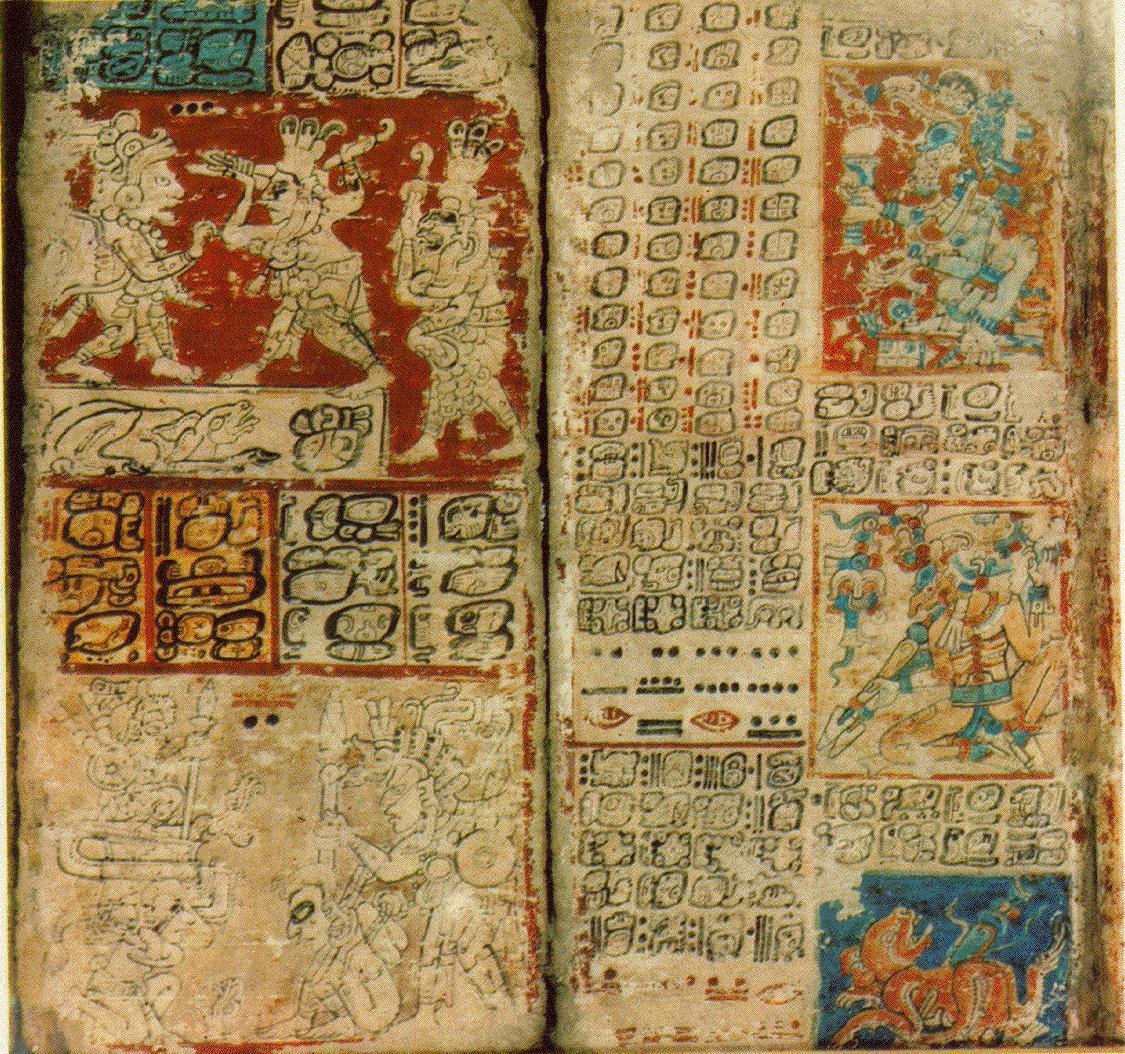 C?dice del Libro Chilam Balam de la civilizaci?n Maya