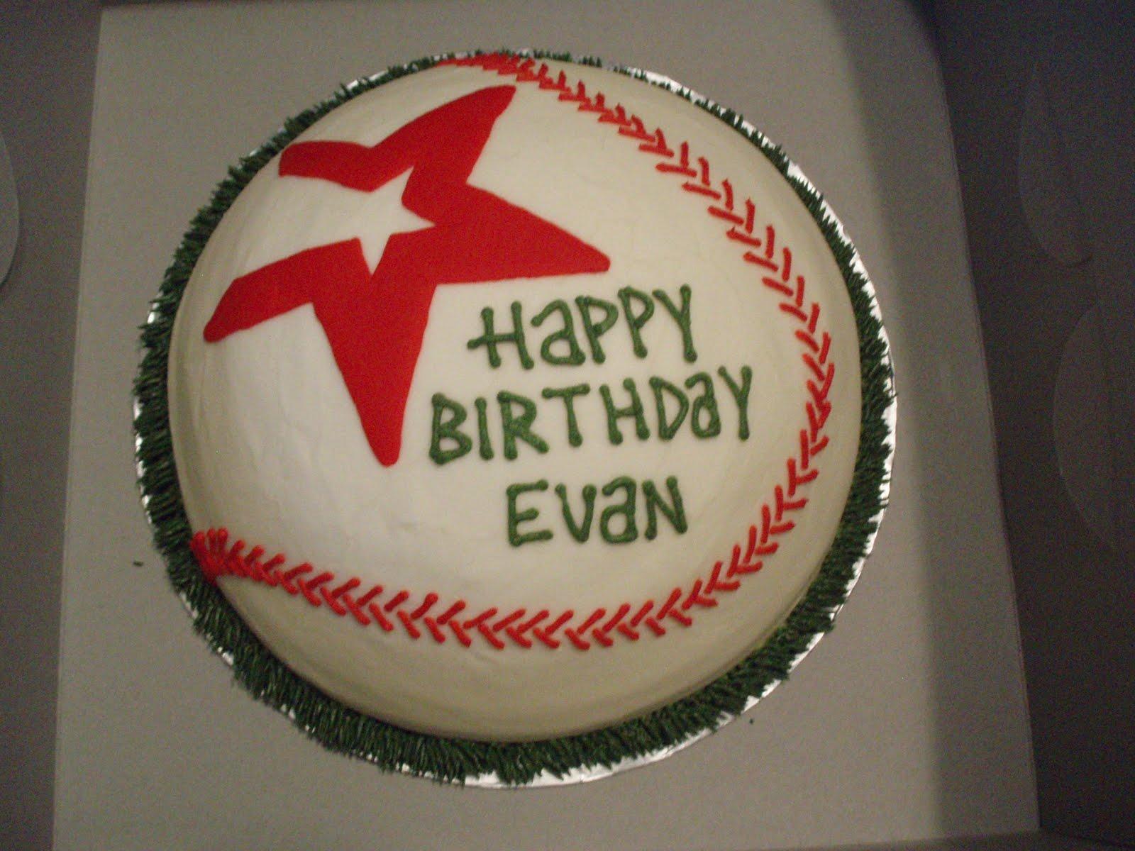 Houston Astros This Birthday Cake