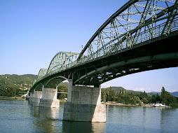 Mária Valéria híd Esztergomból