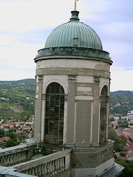 A Bazilika kupolája a Bazilikából