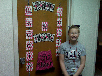 Cheer Camp Door | Party Invitations Ideas