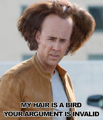 bird hair