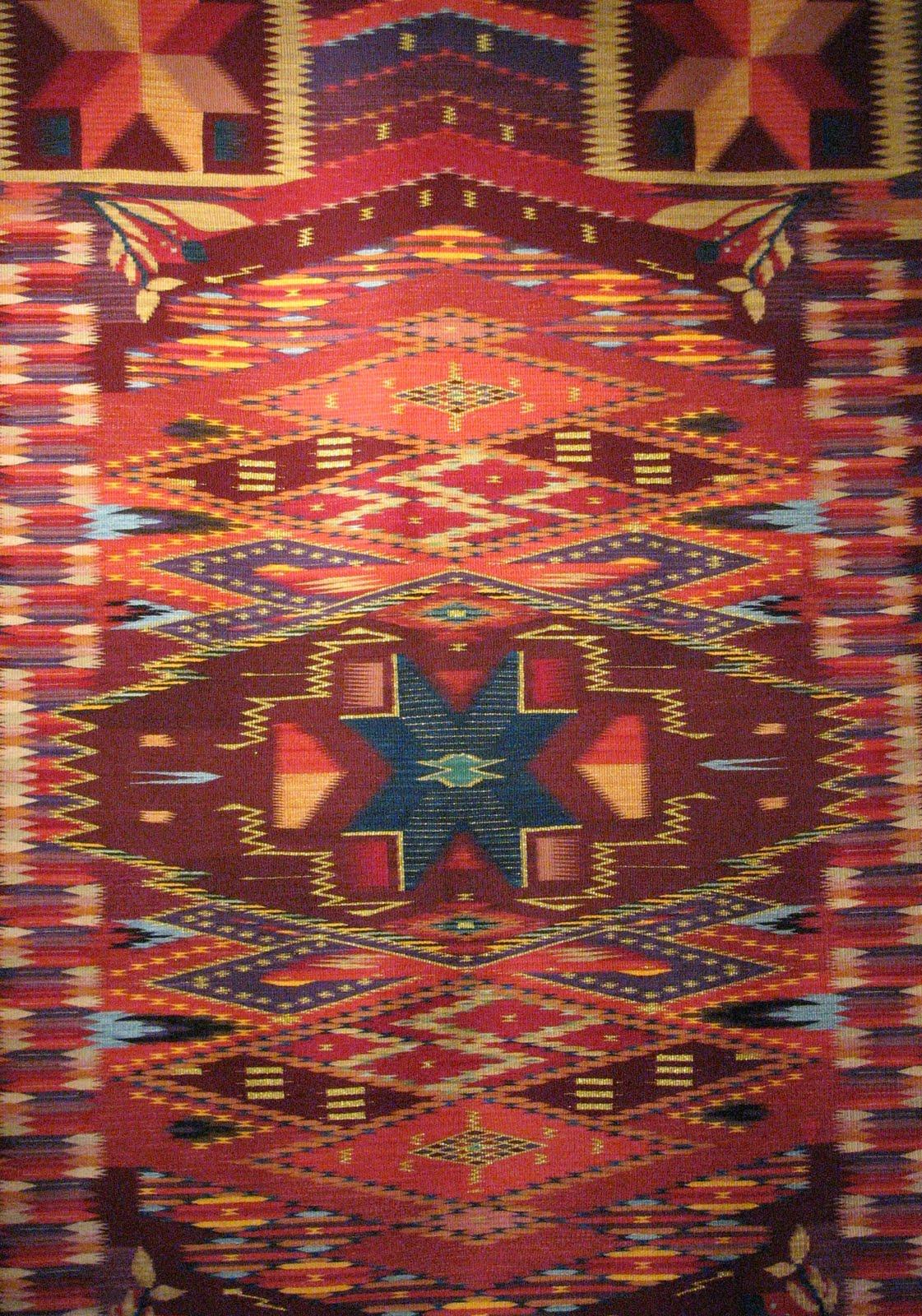 Weaving Chimayo Rugs