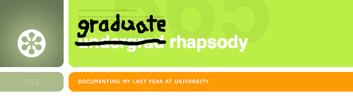 Graduate Rhapsody [closed]
