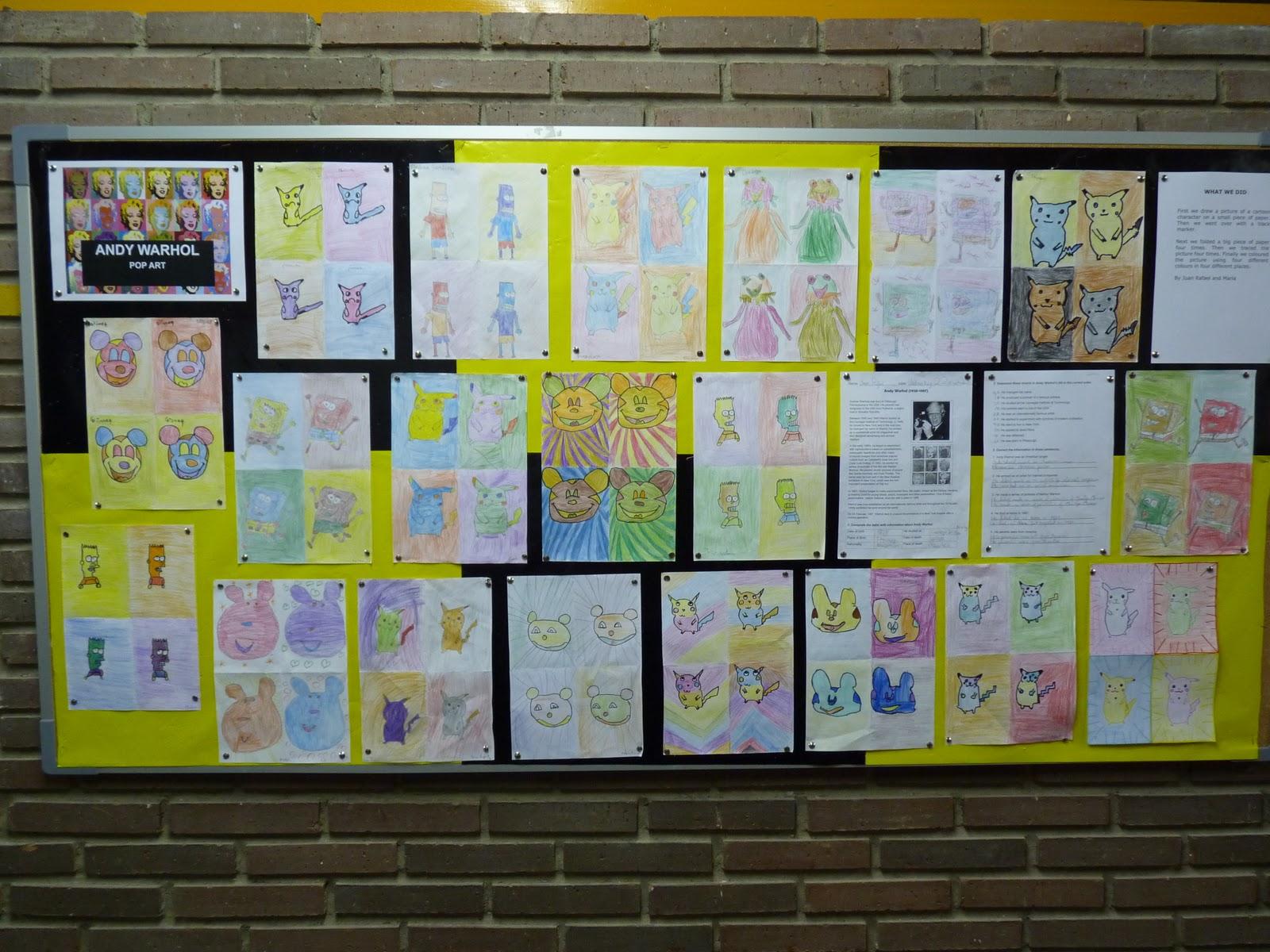 Bilingual Education Activities Andy Warhol