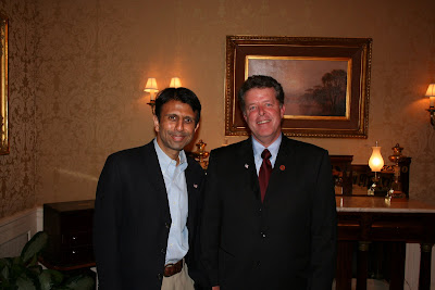 Gov. Jindal/4unionparish at the Governor's Mansion