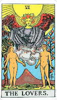 Lovers Rider Waite Tarot