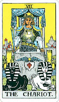 Chariot Rider Waite Smith Tarot