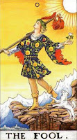 Fool Radiant Rider Waite Smith Tarot