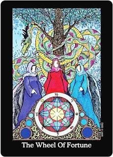 The Whispering Tarot Wheel Of Fortune