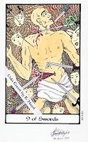 9 of Swords Whispering Tarot