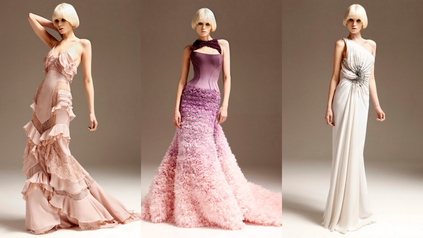 Frills And Thrills: Atelier Versace Evening Gowns