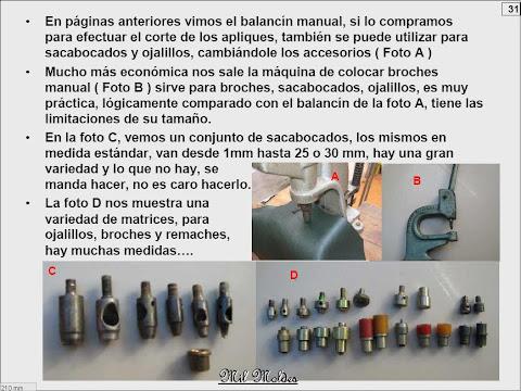 TODAS LAS HERRAMIENTAS PARA PRODUCIR CARTERAS Y BOLSOS EN CUERO