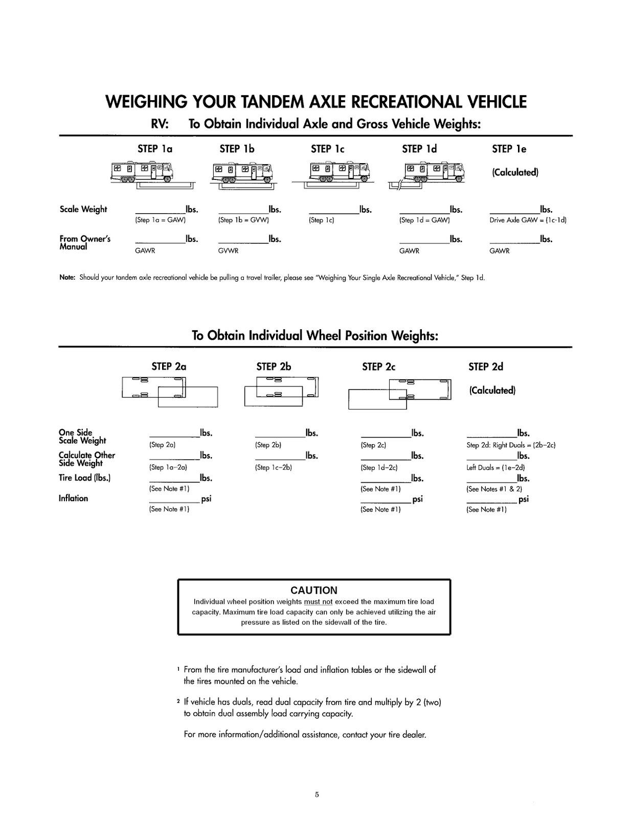 Fleetwood Eccursion rv owners Manual