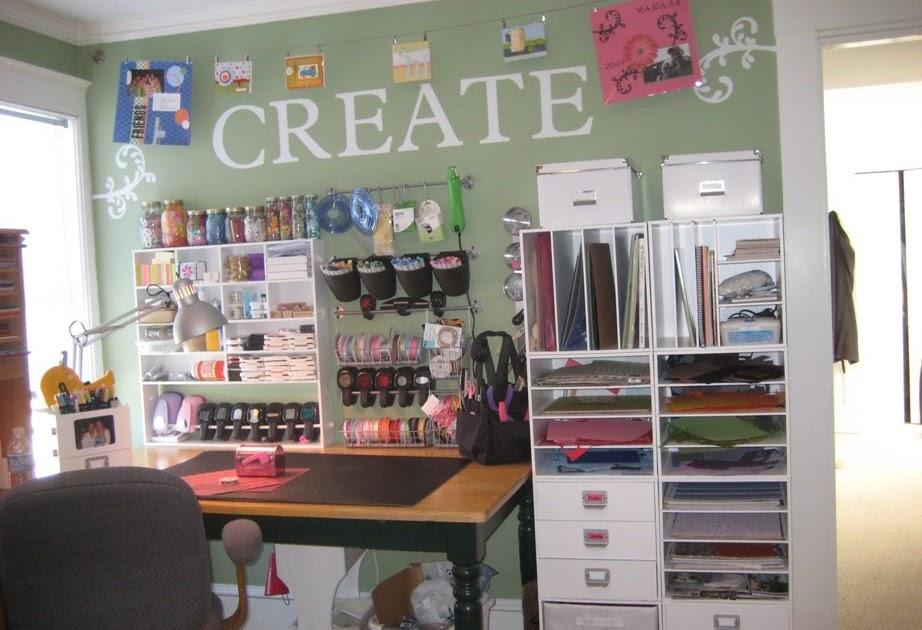 Cricket Craft Room: CRAFTY STORAGE: Kerry's Craft Room