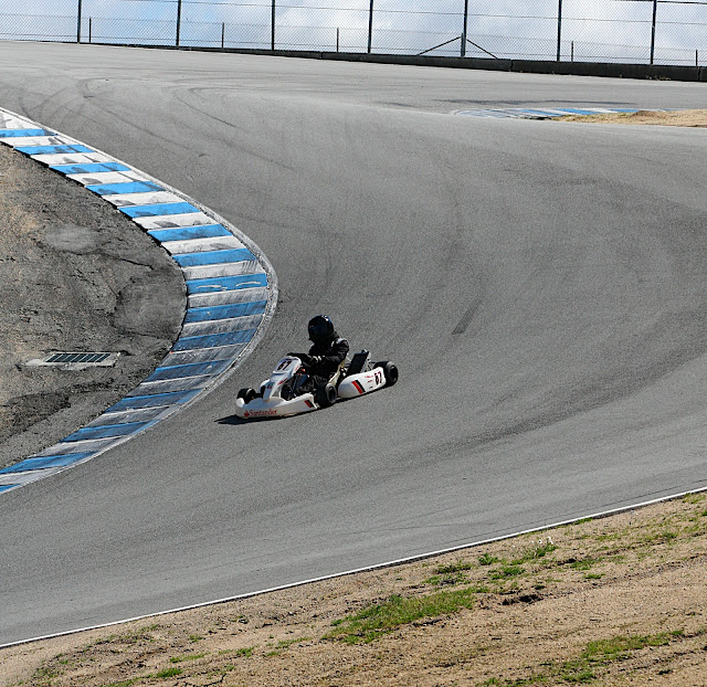 Mail Motor: VIDEO: A lap of Laguna Seca in a shifter kart