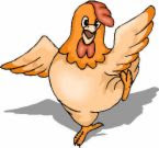 People say I have A.D.D. but that's ridiculous! They just don't underst...Oh Look! A Chicken!!