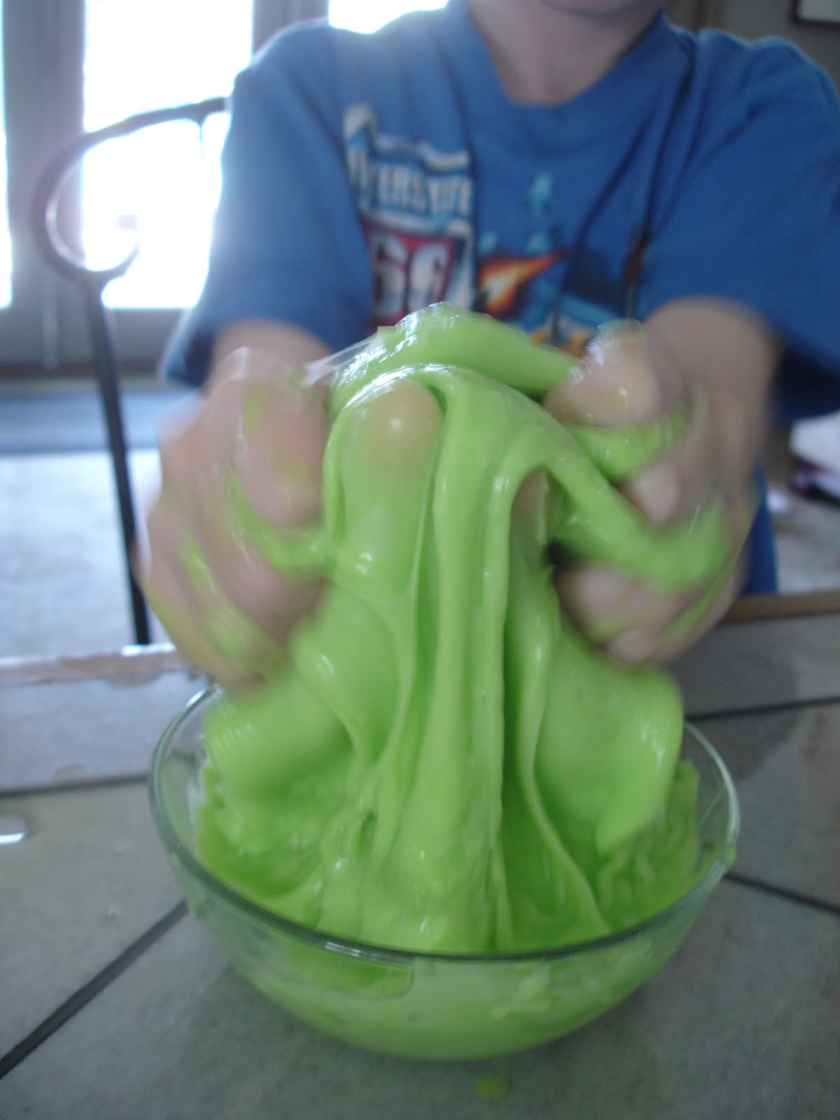 How To Make Slime With Food Coloring And Water
