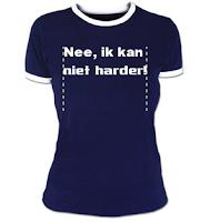 Zeg het met je t-shirt!