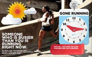 Te druk om te rennen?