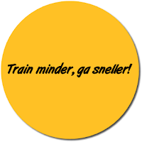 Minder trainen = meer snelheid + meer plezier