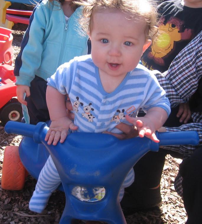 Luke's bike