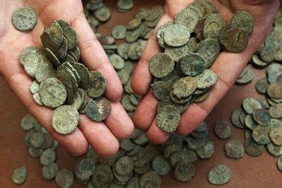 Goddesschess: Treasure Trove! Unbelievable Hoard of Ancient Coins
