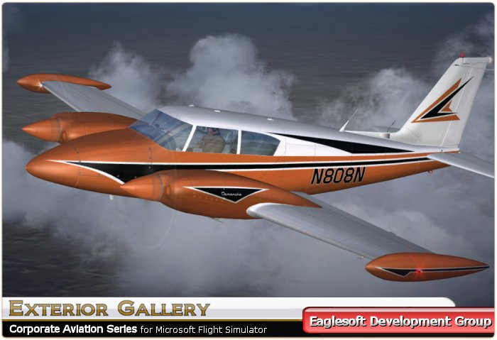 fs2004 eaglesoft piper twin comanche