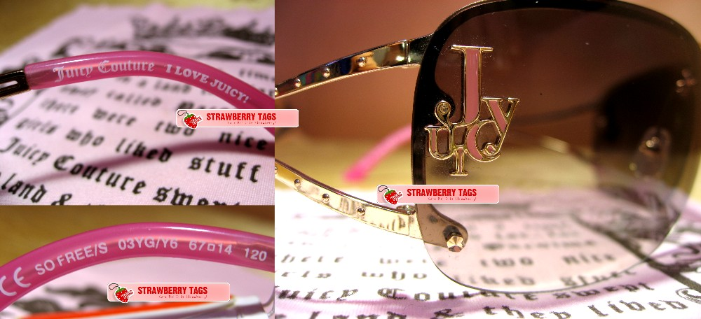 645858f463cfd Pre-order  Juicy Couture Sunglasses - So Free S