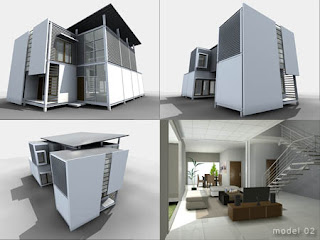 Russian House Prototype Of Modern House For Indonesian People By Yudha Ratmawan