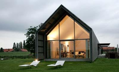 the barn house design belgium by rita huys - Russian House Design