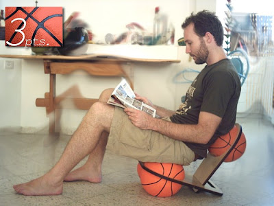 3pts Basketball Chair by Tal Shwartz Image