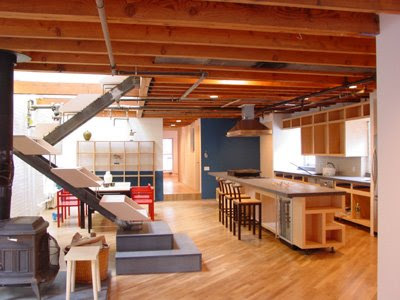 Chelsea Duplex Penthouse by Paul Cha Architect