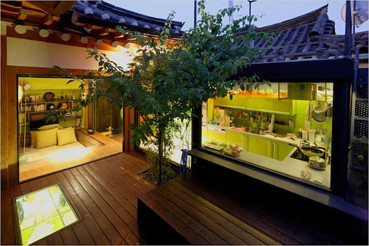 Traditional Korean House Design with Modern Interior ...