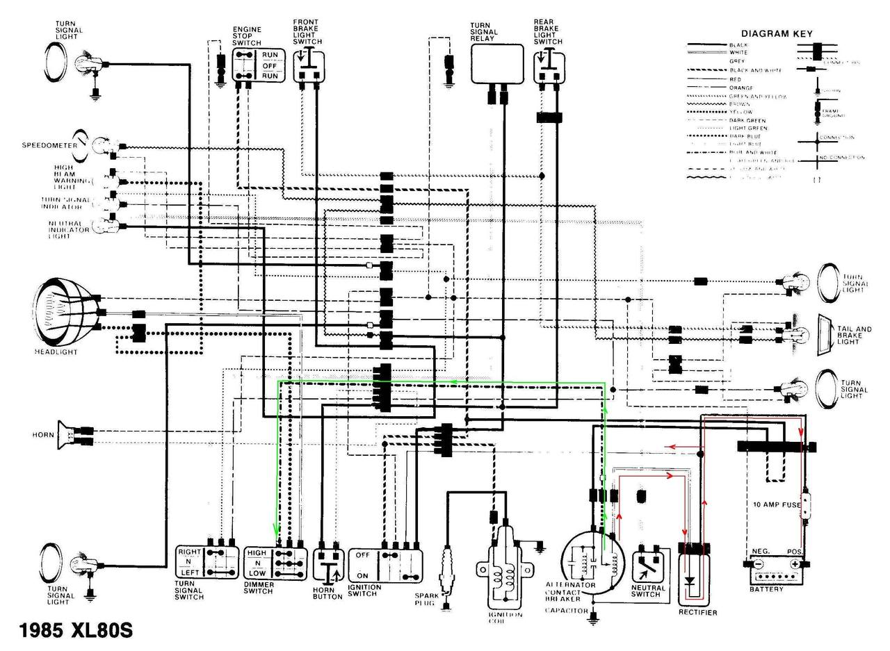 Honda 125 Motorcycle Wiring Diagram 4 Way Round Trailer Plug Tl European Type Free Download