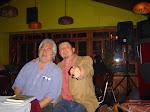 con Mario Artigas