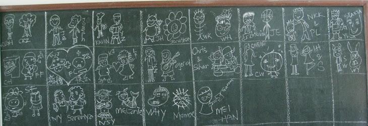 My class's blackboard