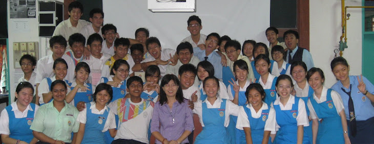 5SC3 2008 students with Pn.Cheah