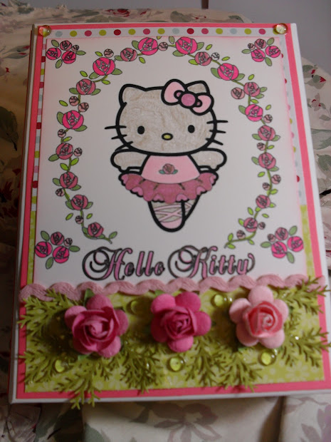 Stamper Gyrl Kitty Set And Fussy Fancy