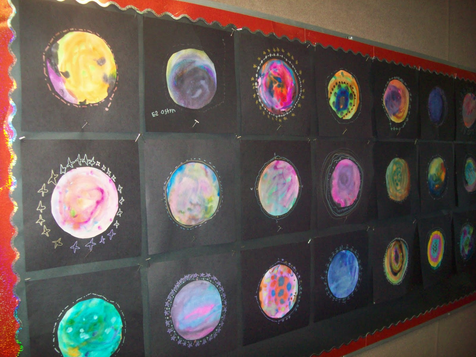 Art At East Union And More Hubble Telescope