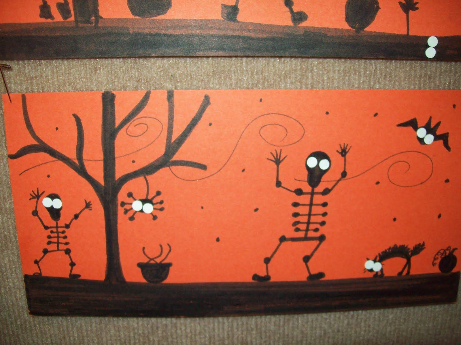 Art At East Union And More 3rd Grade Halloween