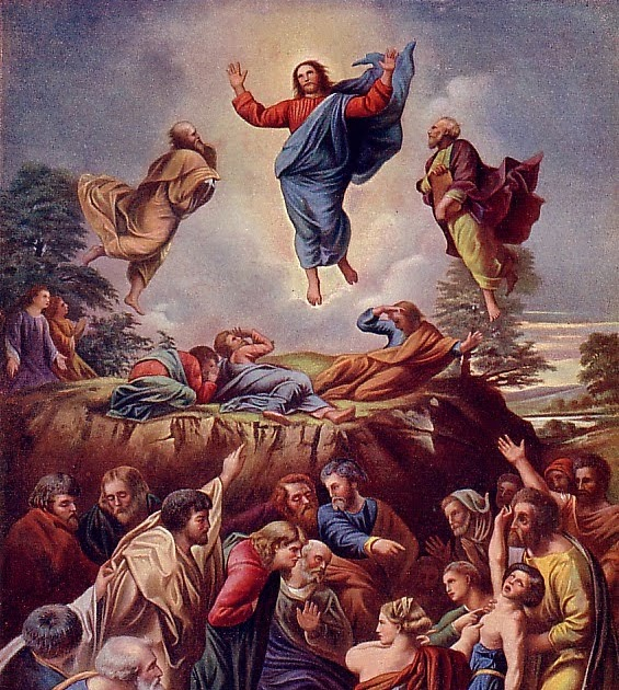 Christi Himmelfahrt Bibelstelle