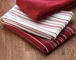 Amy\'s Web Log: Pampered Chef Week - Striped Kitchen Towel Set