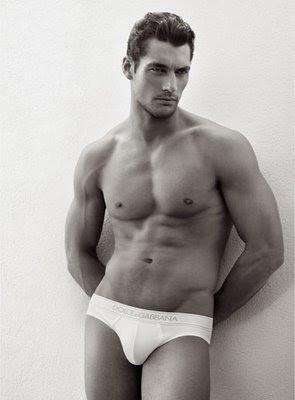 Model david gandy nude quite good