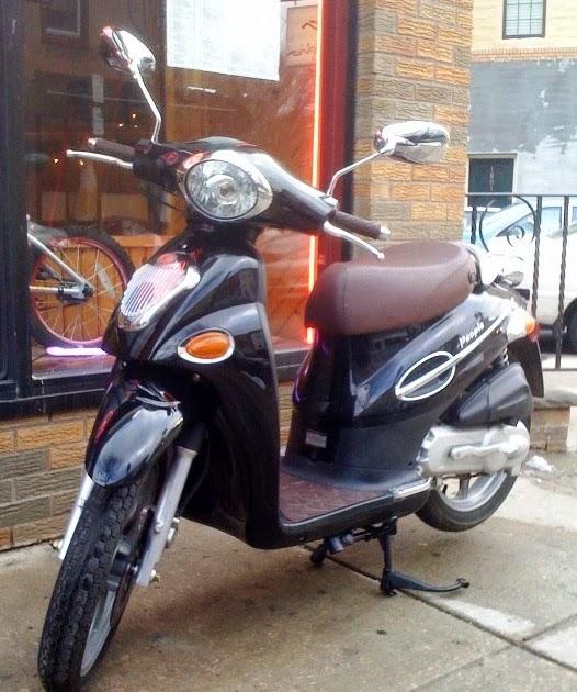 philadelphia used scooters 2004 kymco people 50 black. Black Bedroom Furniture Sets. Home Design Ideas