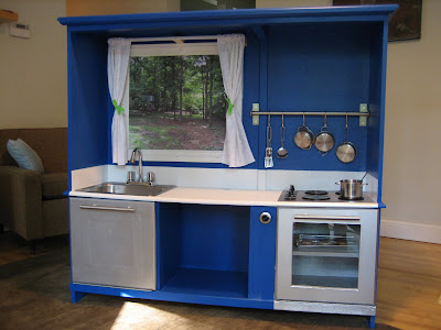 After - the new play kitchen